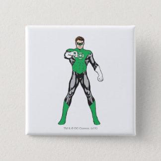 New Green Lantern 4 15 Cm Square Badge