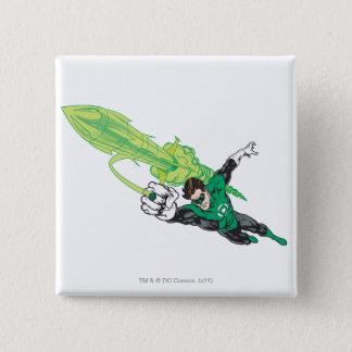 New Green Lantern 5 15 Cm Square Badge