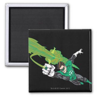 New Green Lantern 5 Square Magnet