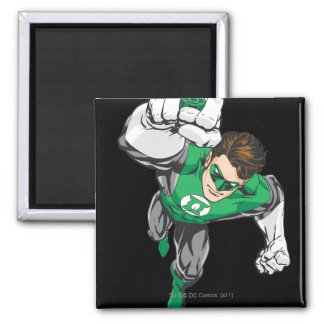 New Green Lantern 6 Square Magnet
