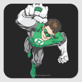 New Green Lantern 6 Square Sticker