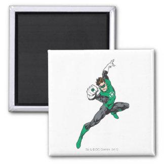 New Green Lantern 7 Square Magnet