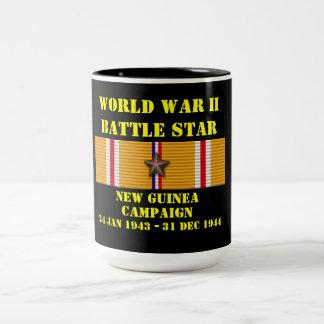 New Guinea Campaign Two-Tone Coffee Mug