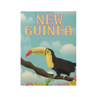 New Guinea Toucan travel poster