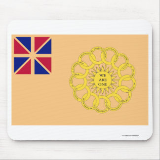 New Hampshire 2nd Regiment Flag Mouse Pad