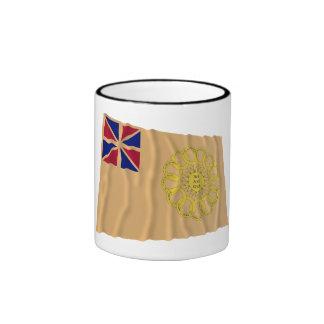 New Hampshire 2nd Regiment Waving Flag Coffee Mug