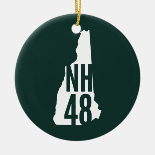 New Hampshire 4000 Footers Ornament