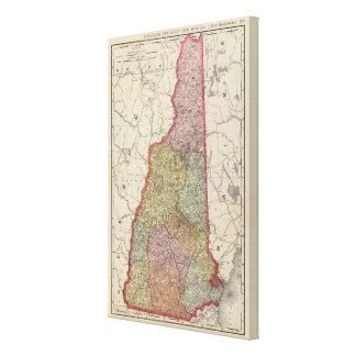 New Hampshire 5 Canvas Print
