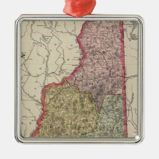New Hampshire 5 Christmas Ornament