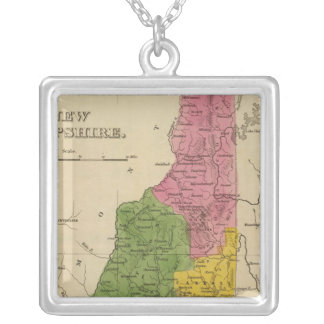 New Hampshire 6 Silver Plated Necklace