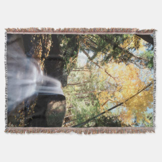 New Hampshire, A waterfall in the White Throw Blanket