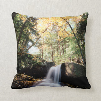 New Hampshire, A waterfall in the White Throw Pillow