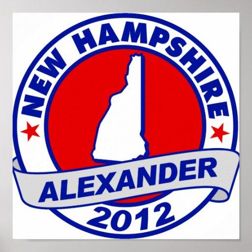 New Hampshire Alexander Print