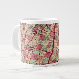 New Hampshire and Vermont 2 Large Coffee Mug