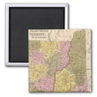 New Hampshire and Vermont 2 Magnet
