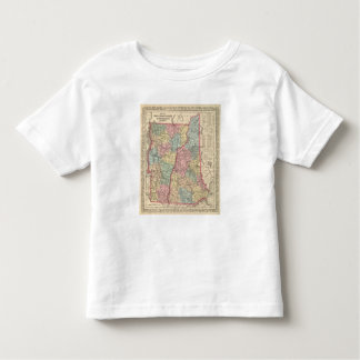 New Hampshire and Vermont 3 Toddler T-Shirt