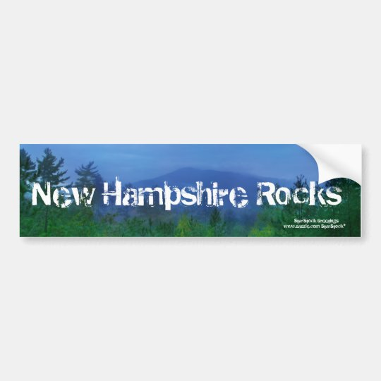 New Hampshire Bumper Sticker
