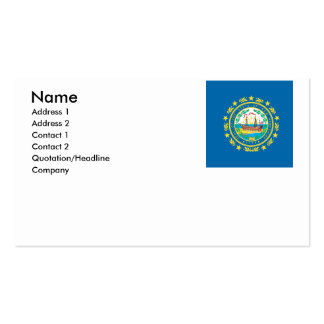 NEW HAMPSHIRE Double-Sided STANDARD BUSINESS CARDS (Pack OF 100)
