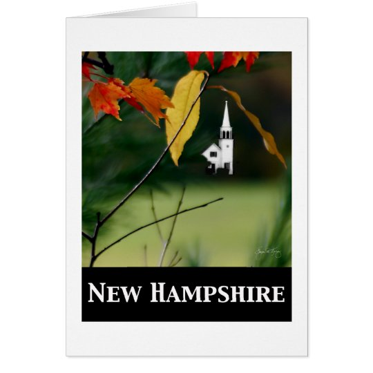 New Hampshire; Chocorua Chapel Card