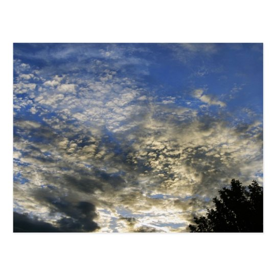 New Hampshire Clouds Postcard