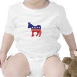 New Hampshire Democrat Donkey Rompers