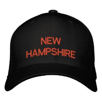 NEW HAMPSHIRE EMBROIDERED BASEBALL CAPS