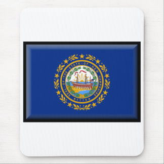 New Hampshire Flag Mouse Mat
