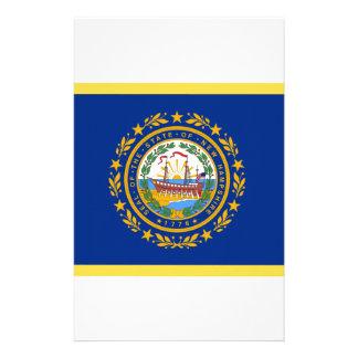 New Hampshire Flag Stationery