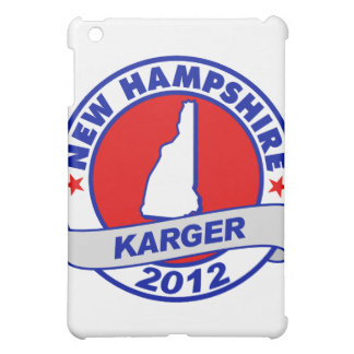 New Hampshire Fred Karger iPad Mini Covers