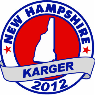 New Hampshire Fred Karger Photo Cutout