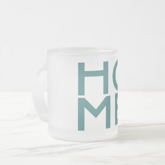 New Hampshire frosty glass mug