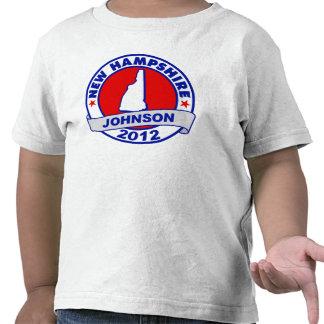 New Hampshire Gary Johnson Shirt