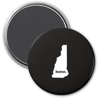New Hampshire Home 7.5 Cm Round Magnet