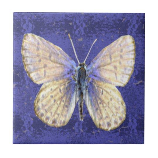 New Hampshire Karner Blue Butterfly Tile