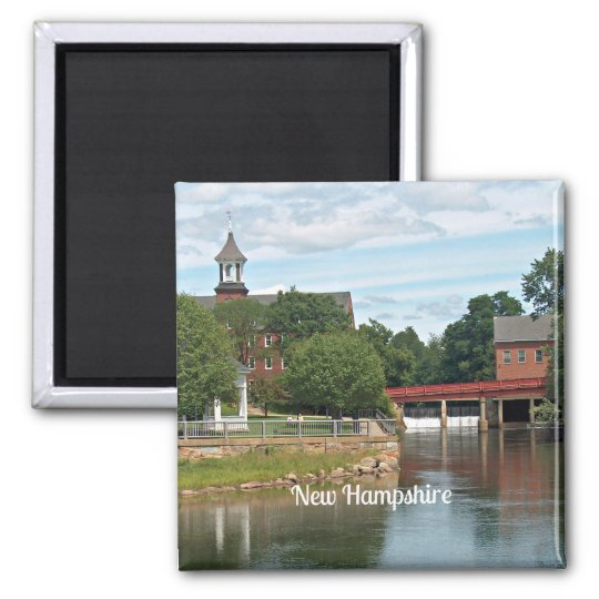 New Hampshire landscape Magnet