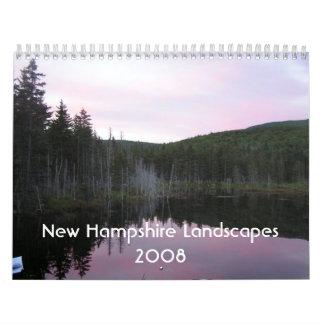 New Hampshire Landscapes 2008 Calendars