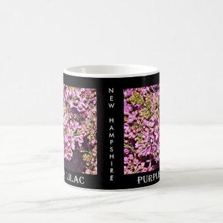 New Hampshire Lilac (Purple) Coffee Mug
