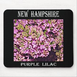 New Hampshire Lilac Purple Mousepad