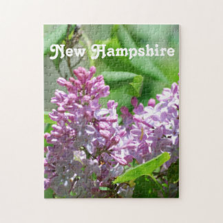 New Hampshire Lilacs Jigsaw Puzzle