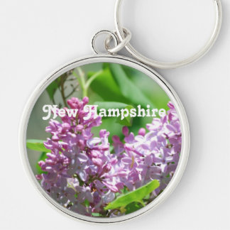 New Hampshire Lilacs Key Ring