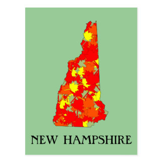 New Hampshire Maple Postcard
