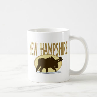 New Hampshire Moose Coffee Mug