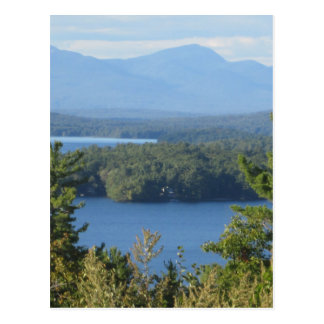New Hampshire Mountain Lake Postcard
