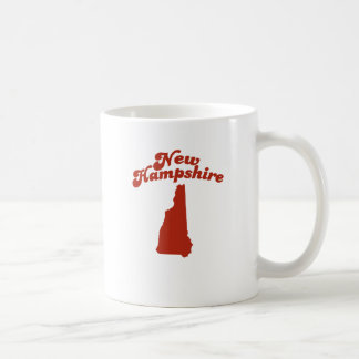 NEW HAMPSHIRE Red State Basic White Mug