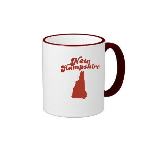 NEW HAMPSHIRE Red State Mugs