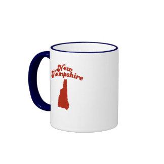 NEW HAMPSHIRE Red State Ringer Mug