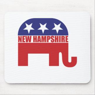 New Hampshire Republican Elephant Mousepad