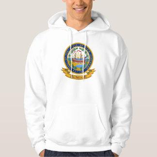 New Hampshire Seal Hooded Sweatshirt