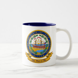 New Hampshire Seal Two-Tone Mug