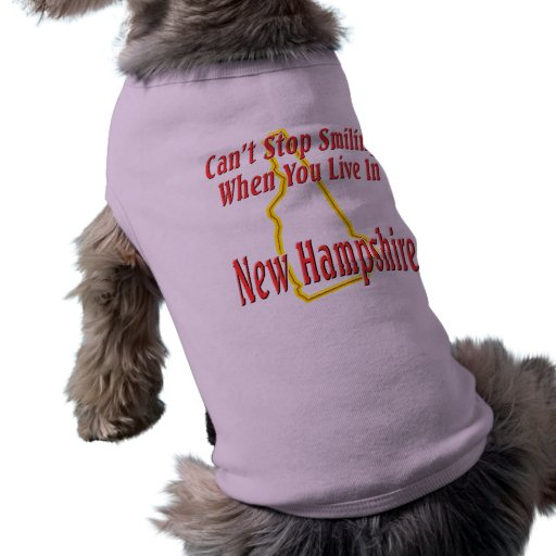 New Hampshire - Smiling Pet Clothing